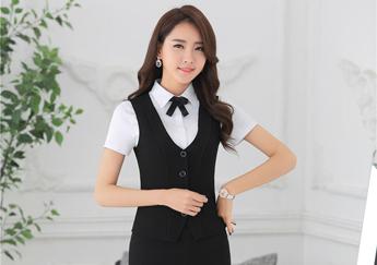 Đồng phục văn phòng-Những mẫu đồng phục áo ghi lê đẹp