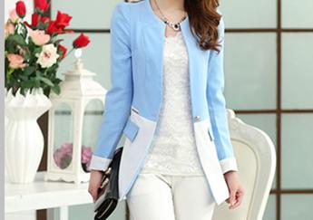 Mẫu áo Blazer dài - May đồng phục vest cao cấp HCM