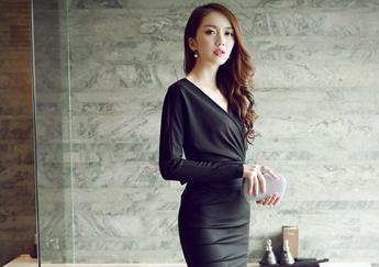 May đồng phục công sở-những mẫu đầm công sở đẹp 2016