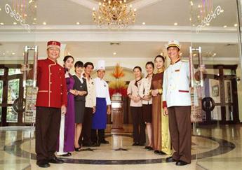May đồng phục nhà hàng - khách sạn - resort tại Phú Quốc