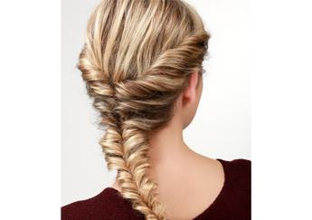 Thời trang tóc thắt bím-mẫu tóc thắt đẹp