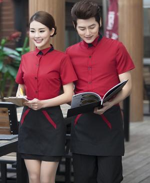 May đồng phục nhà hàng - đồng phục phục vụ cao cấp