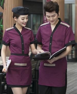 May đồng phục phục vụ - đồng phục nhà hàng đẹp
