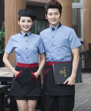 May đồng phục phục vụ - đồng phục quán cafe cao cấp