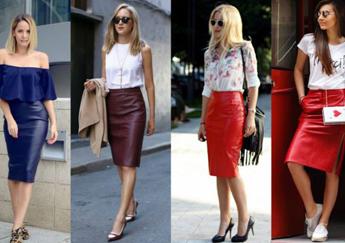 Chân váy bút chì và những cách phối tạo phong cách khác biệt