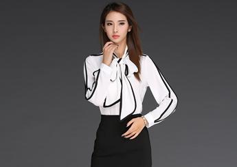 Những mẫu áo sơ mi trắng đẹp - May đồng phục công sở