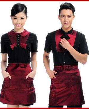 Đồng phục phục vụ - đồng phục quán cafe đẹp, phong cách