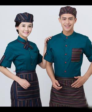 Đồng phục phục vụ - may đồng phục nhà hàng