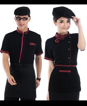 Đồng phục phục vụ - may đồng phục nhà hàng chuyên nghiệp