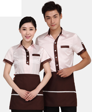 Đồng phục phục vụ - may đồng phục nhà hàng uy tín