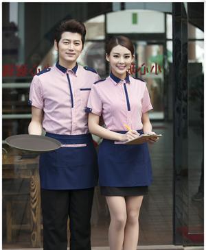 May đồng phục nhà hàng - đồng phục phục vụ uy tín