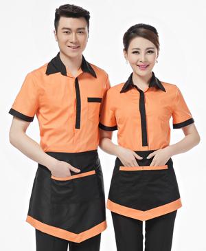 May đồng phục phục vụ - đồng phục nhà hàng khách sạn