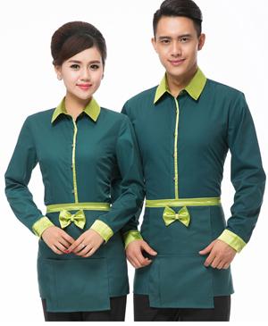 May đồng phục phục vụ - đồng phục nhà hàng uy tín
