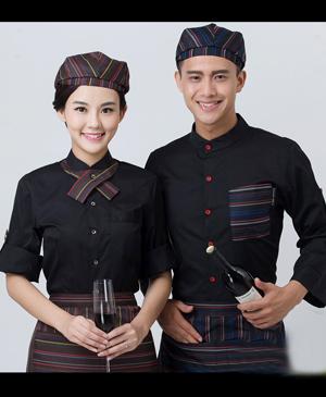 May đồng phục phục vụ - đồng phục quán cafe chuyên nghiệp